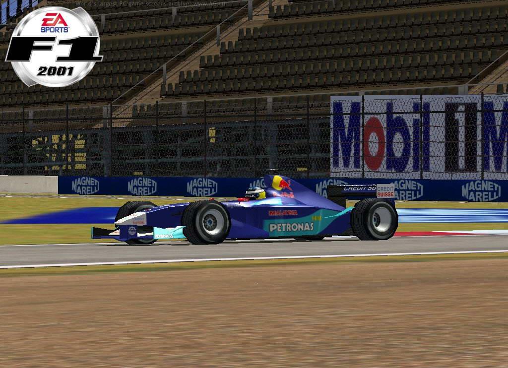 Скриншот F1 2001