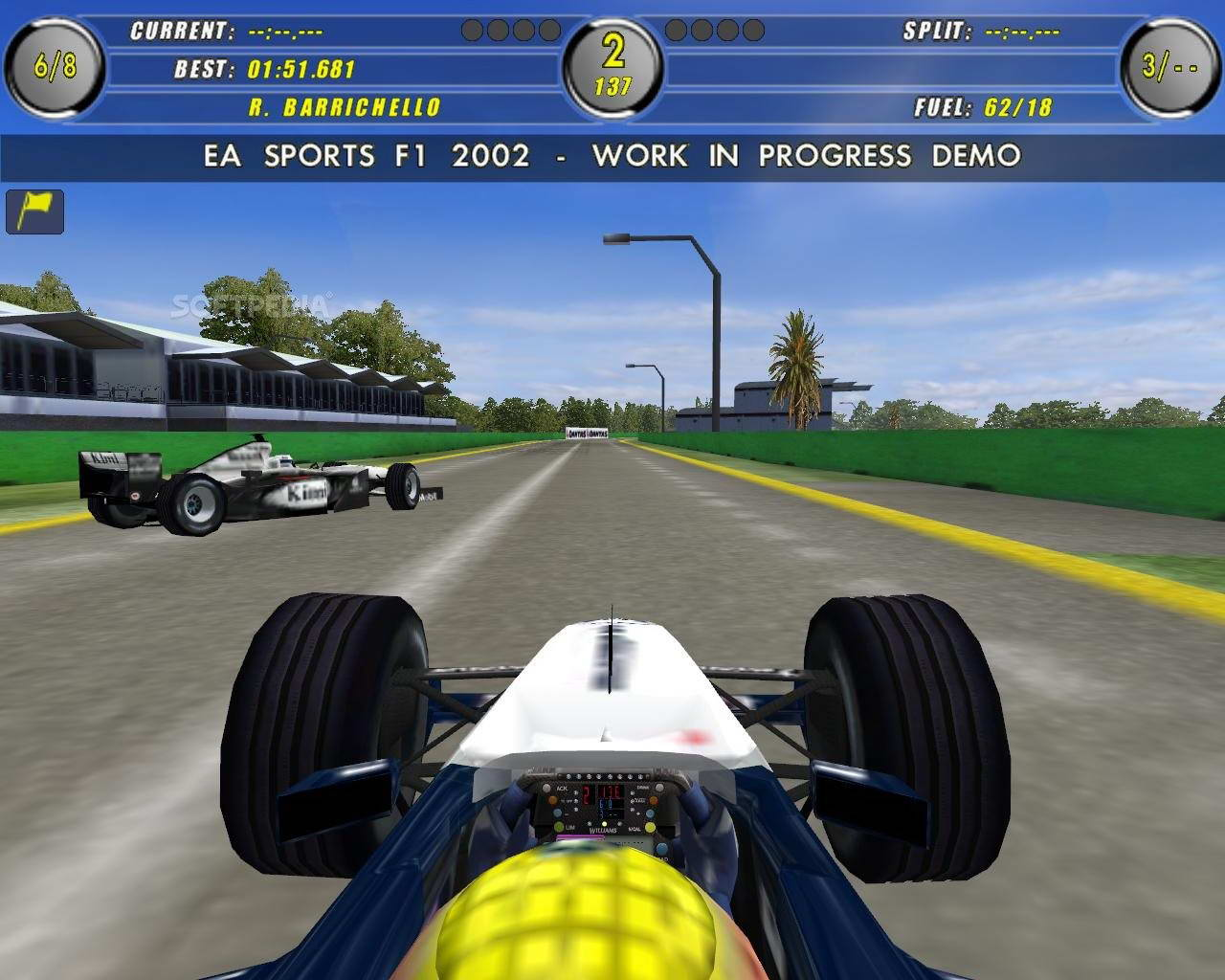 Скриншот F1 2002