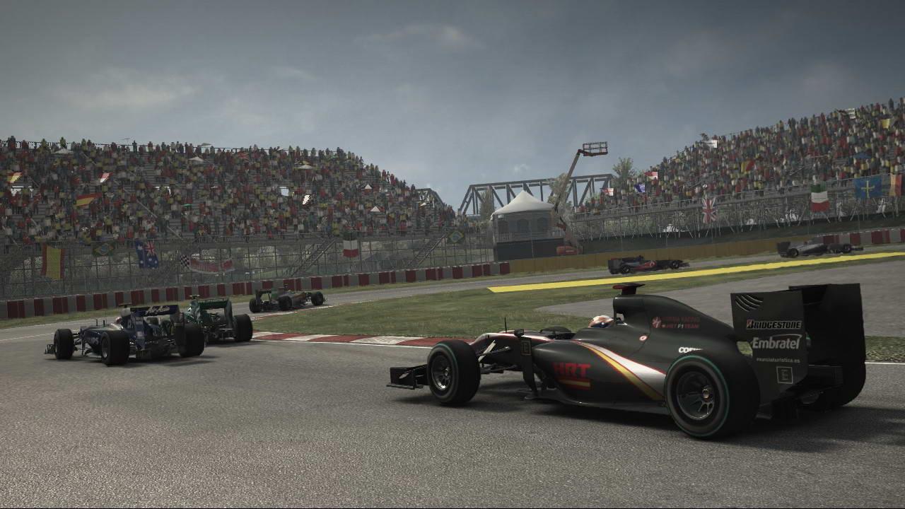 Скриншот F1 2010