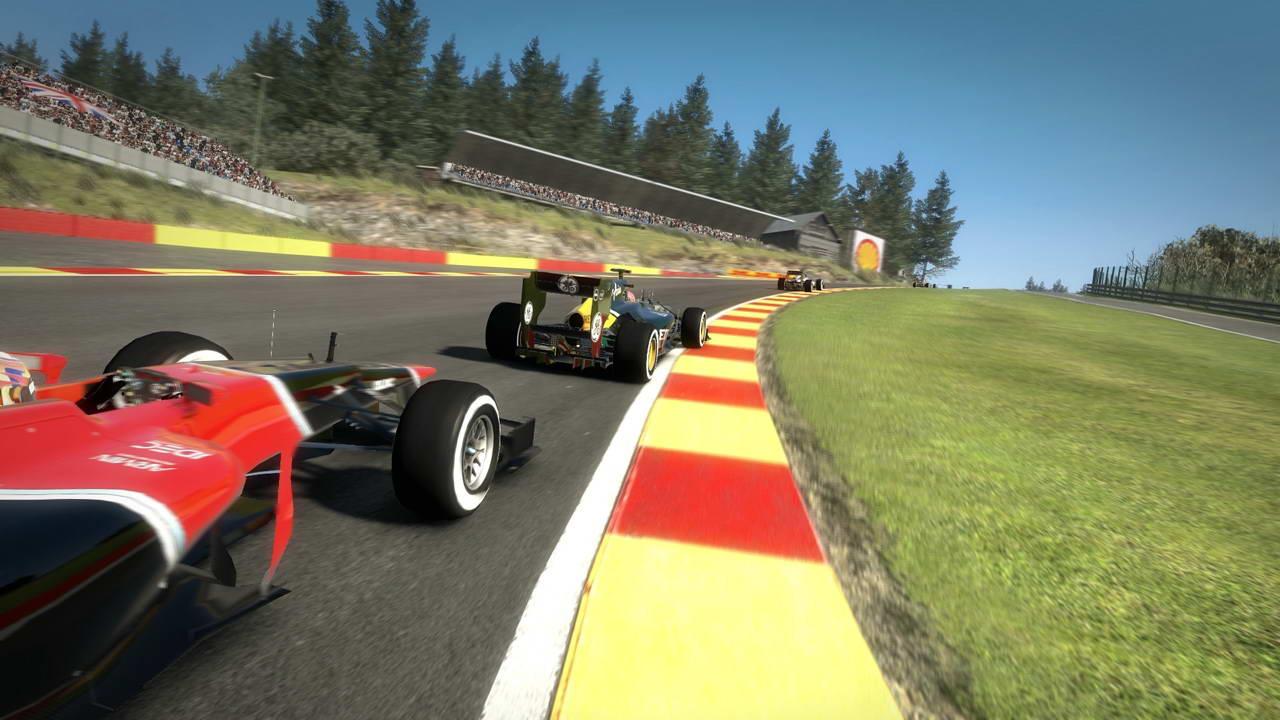 Скриншот F1 2012