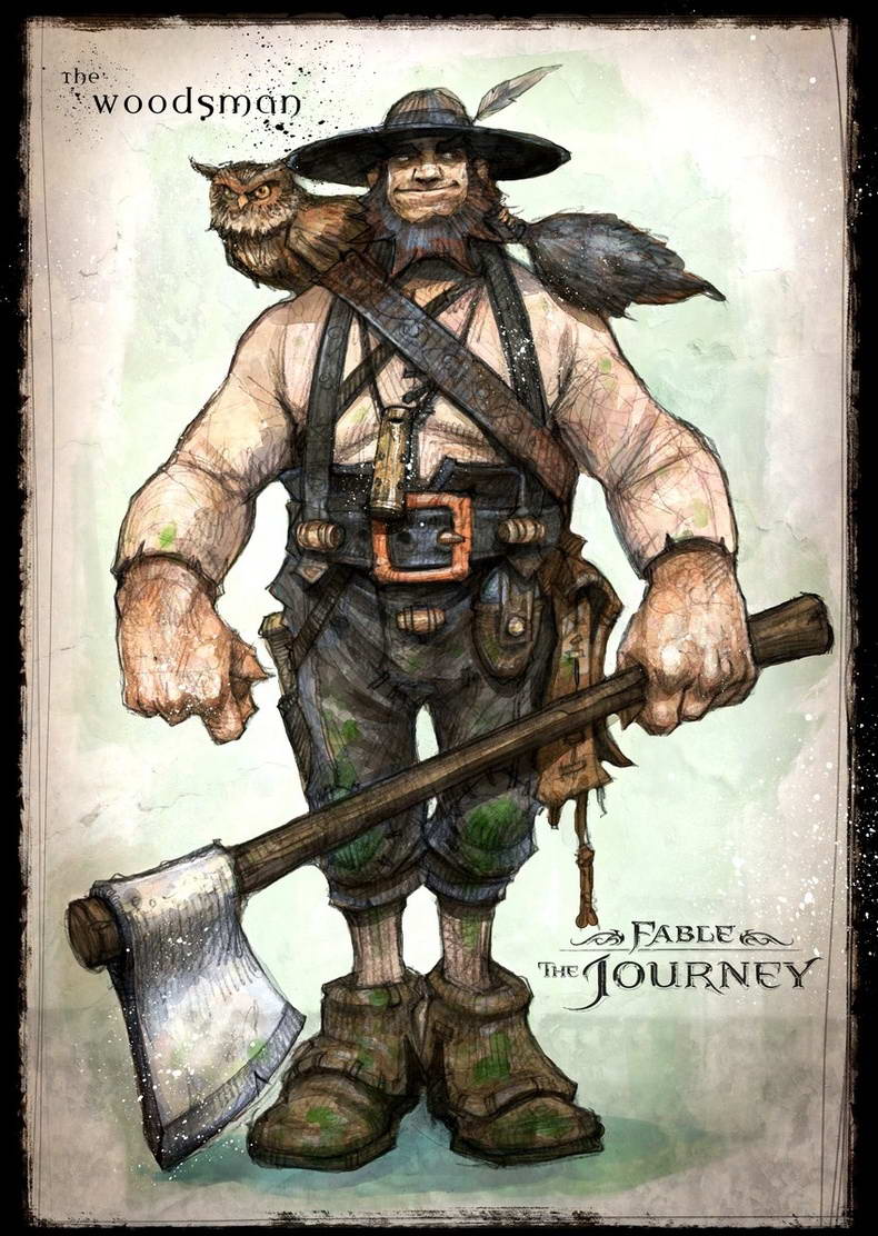 Арт Fable: The Journey