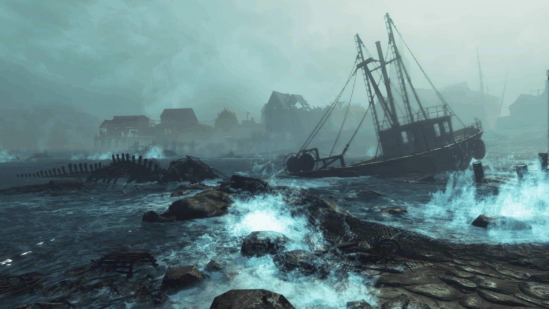 Скриншот Fallout 4: Far Harbor