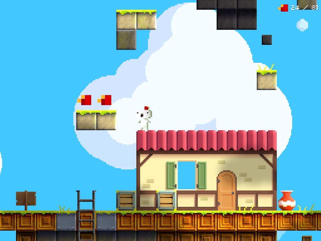 Скриншот Fez