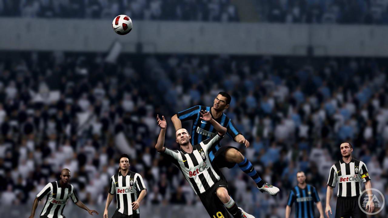 Скриншот FIFA 11