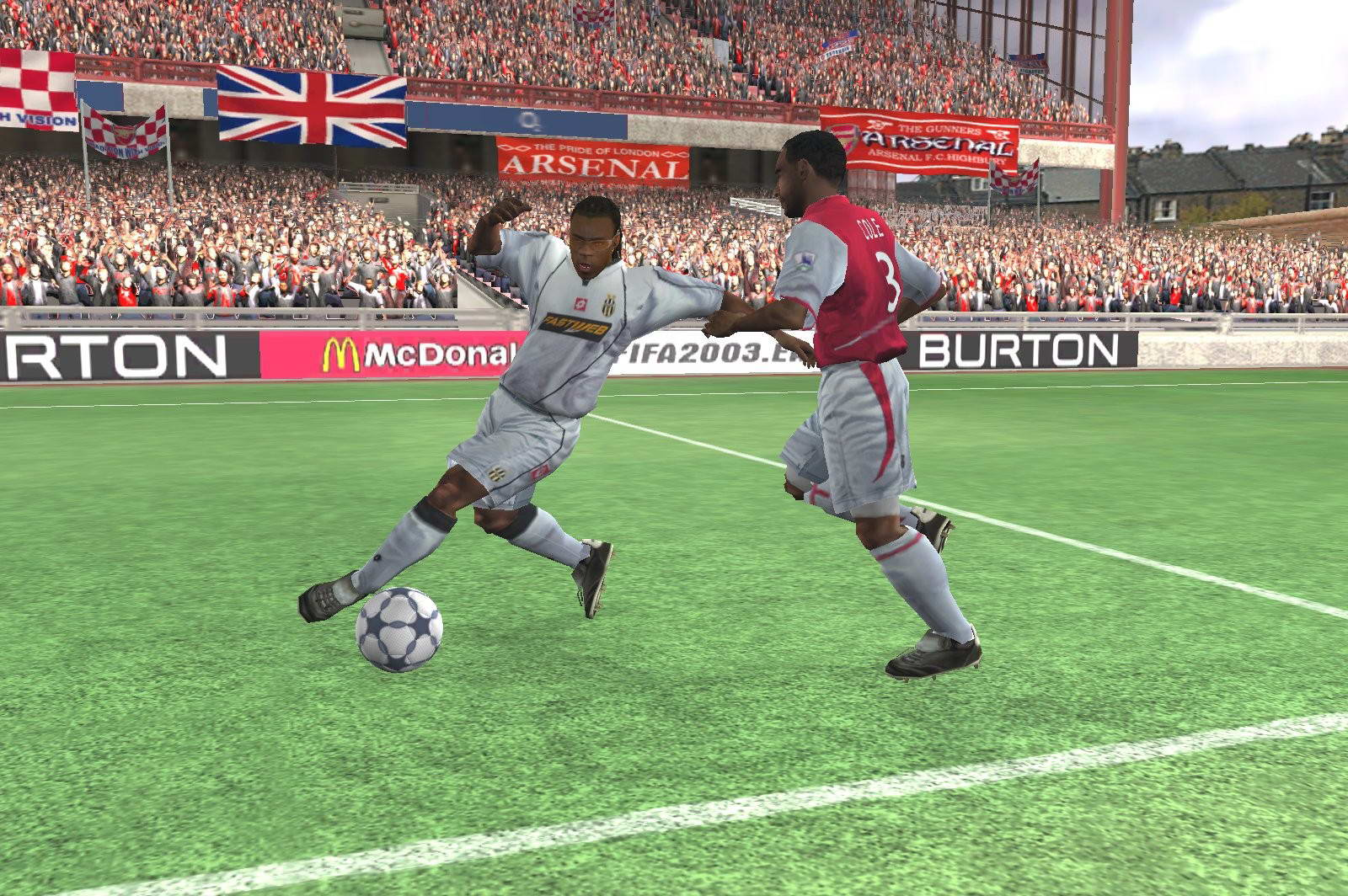 Скриншот FIFA Football 2003