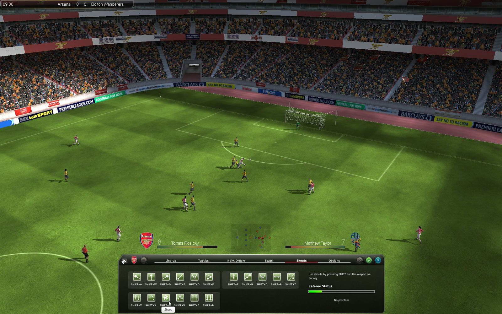 Скриншот Football Manager 2010