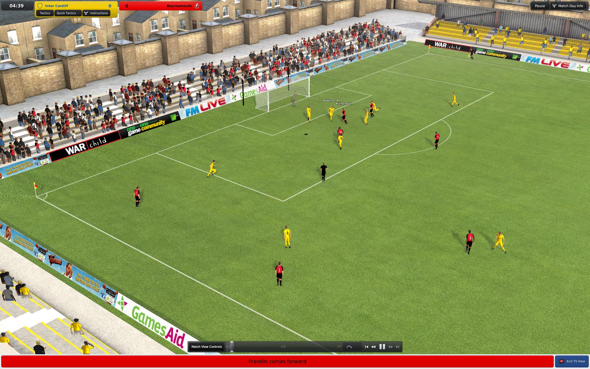 Скриншот Football Manager 2011