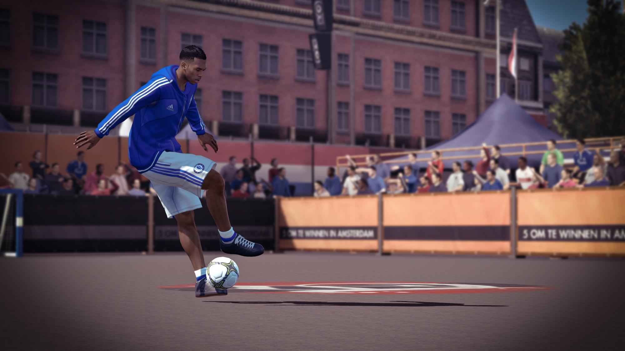Скриншот FIFA Street
