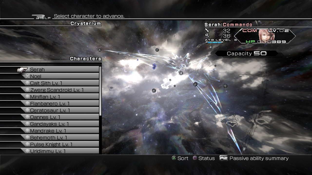 Скриншот Final Fantasy XIII-2