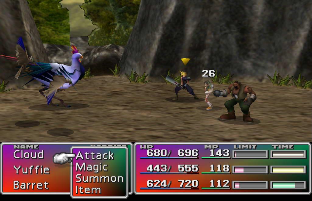 Скриншот Final Fantasy VII