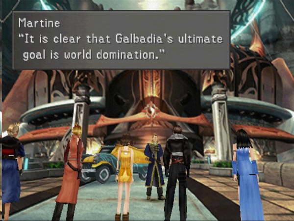 Скриншот Final Fantasy VIII