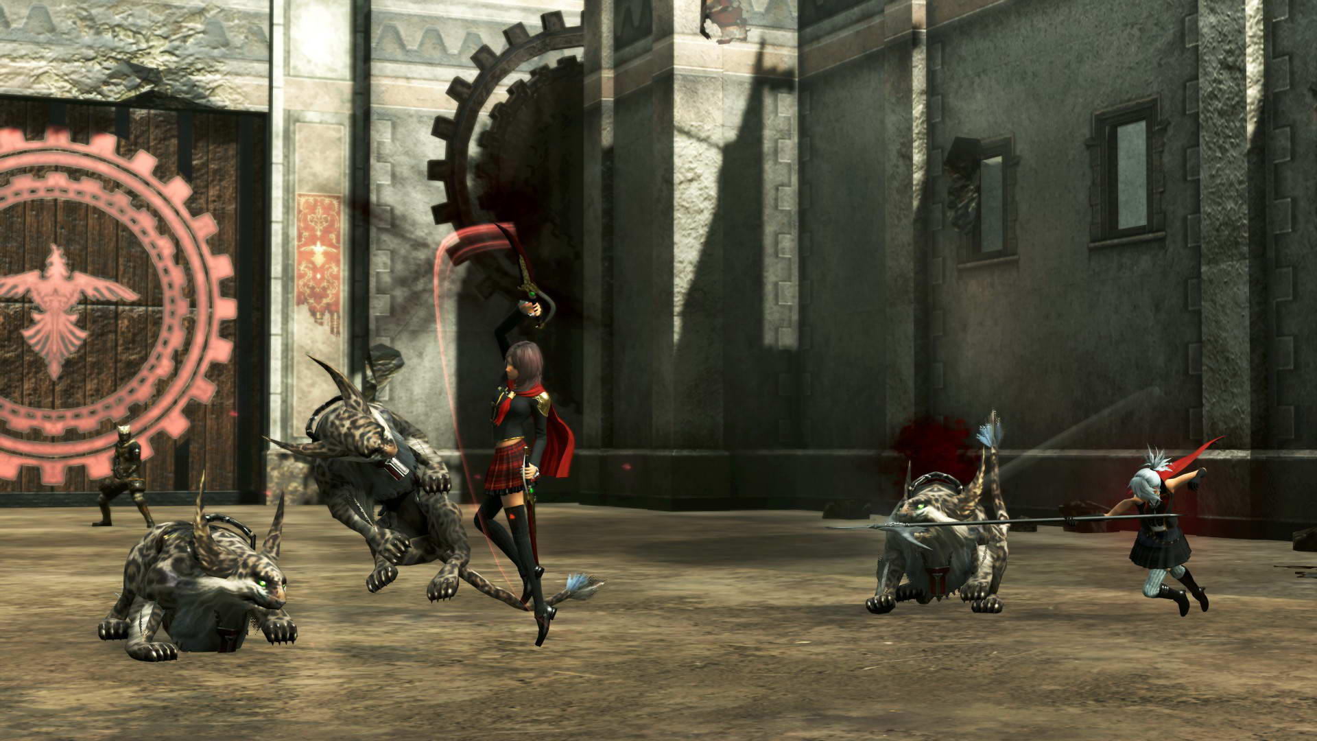 Скриншот Final Fantasy Type-0 HD