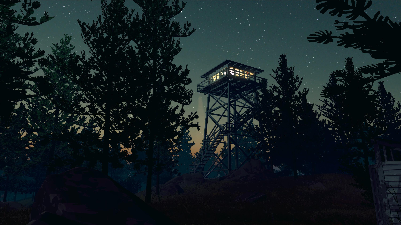 Скриншот Firewatch