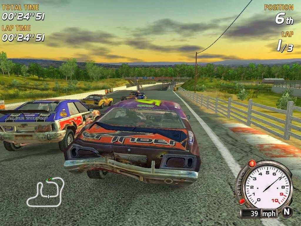 Скриншот FlatOut