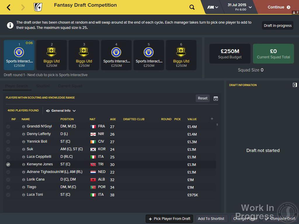 Скриншот Football Manager 2016