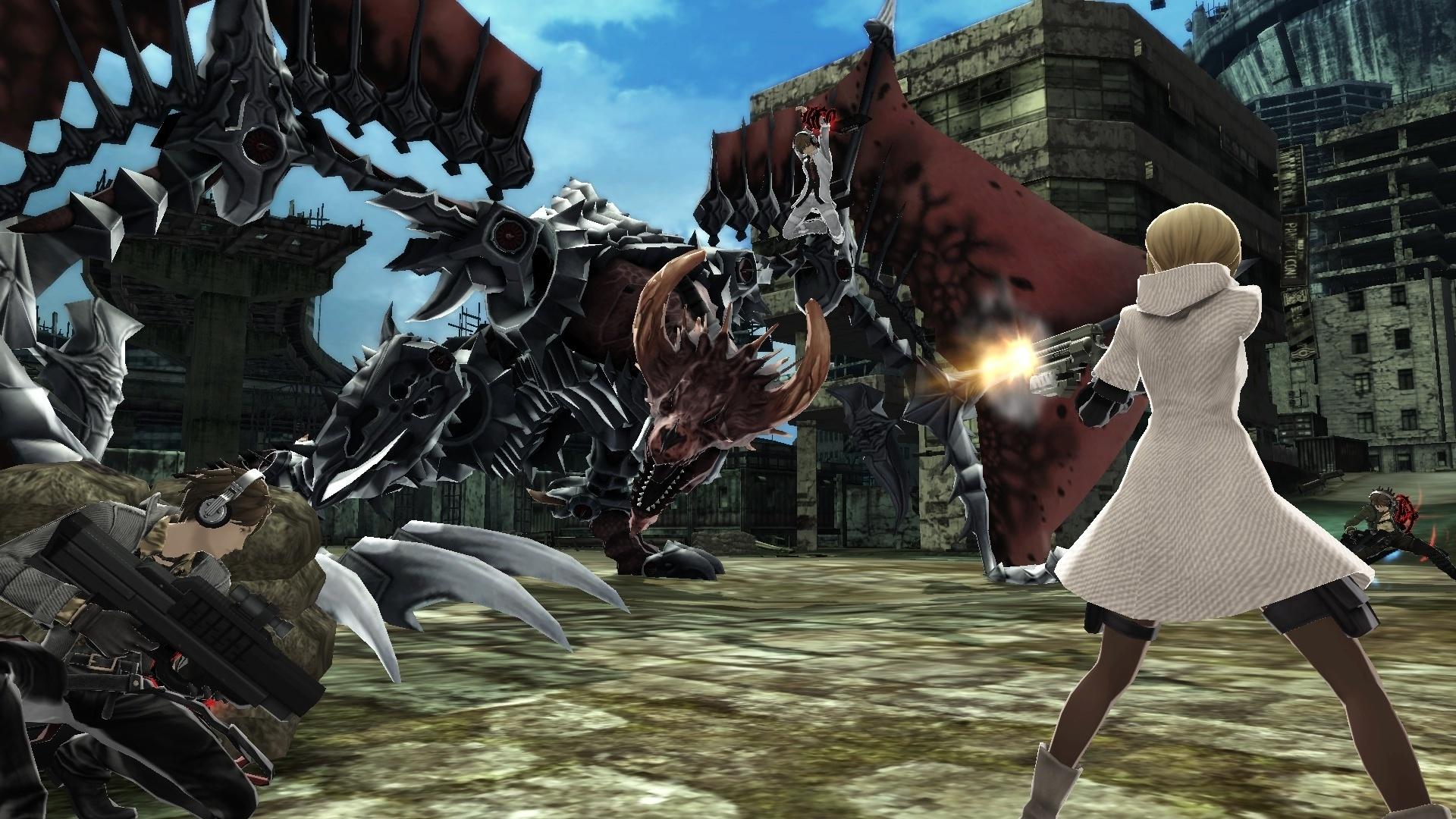 Скриншот Freedom Wars