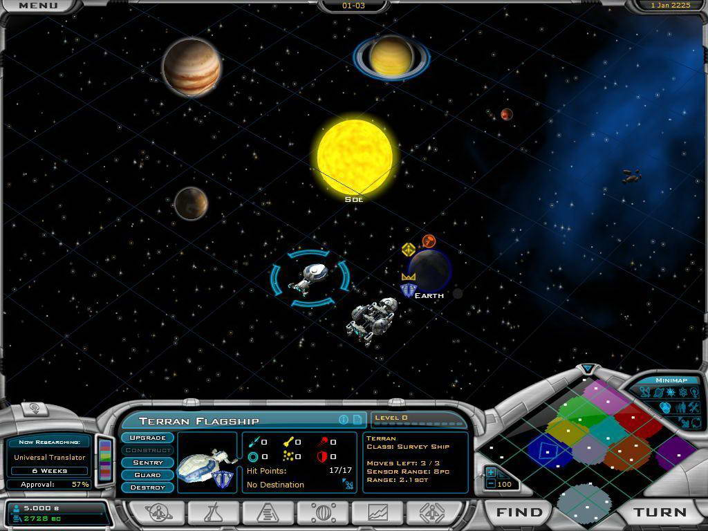 Скриншот Galactic Civilizations II: Dread Lords