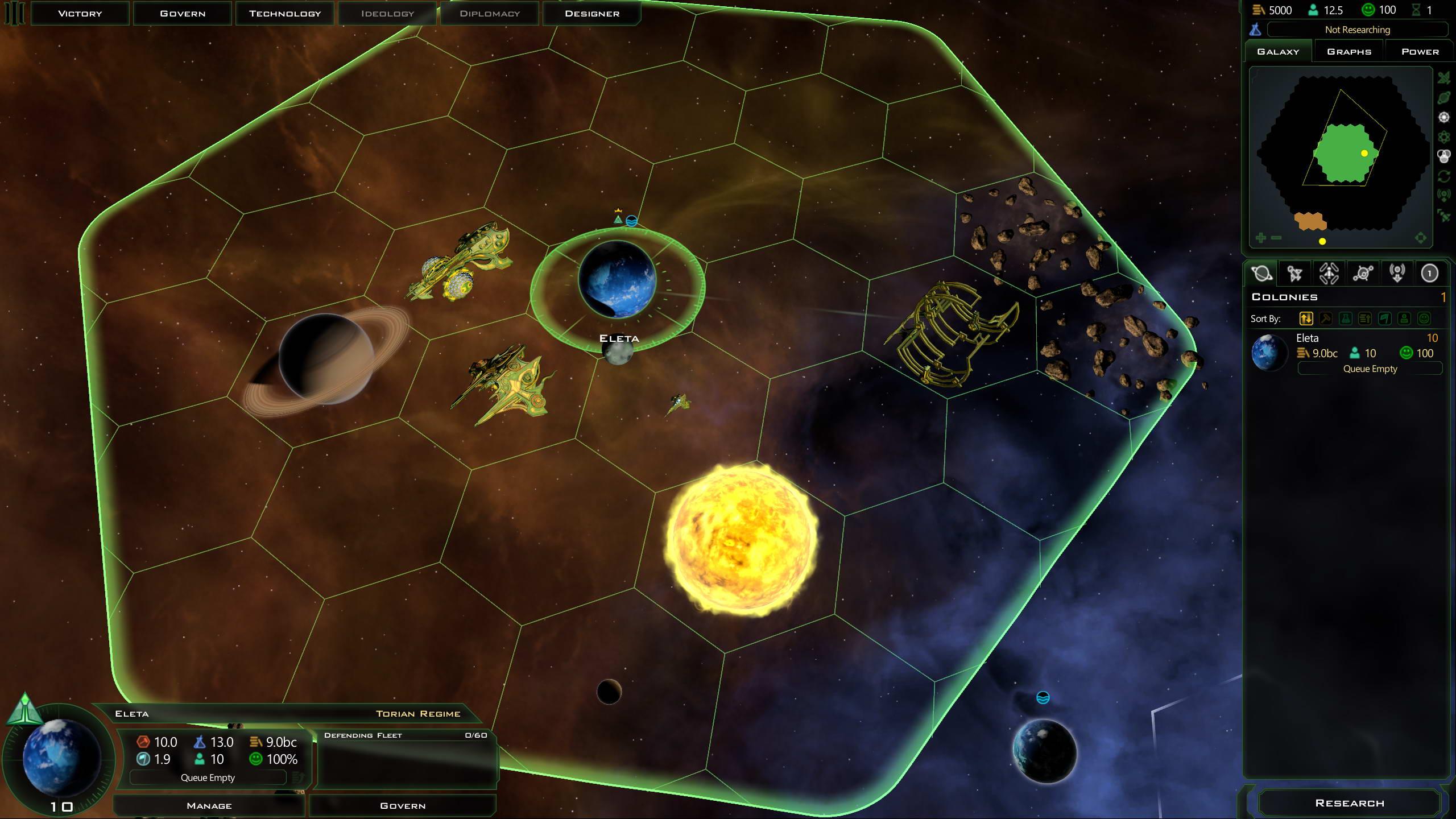 Скриншот Galactic Civilizations 3: Mercenaries