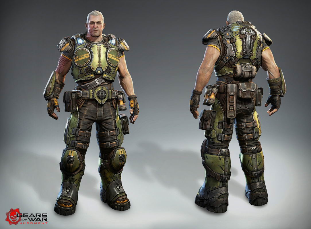 Арт Gears of War: Judgment