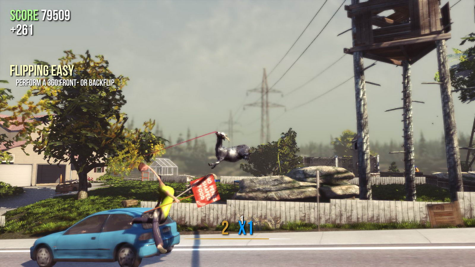 Скриншот Goat Simulator