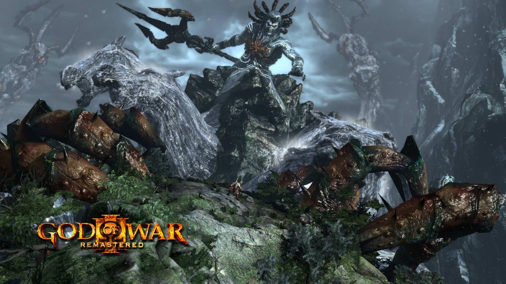 Скриншот God of War III Remastered