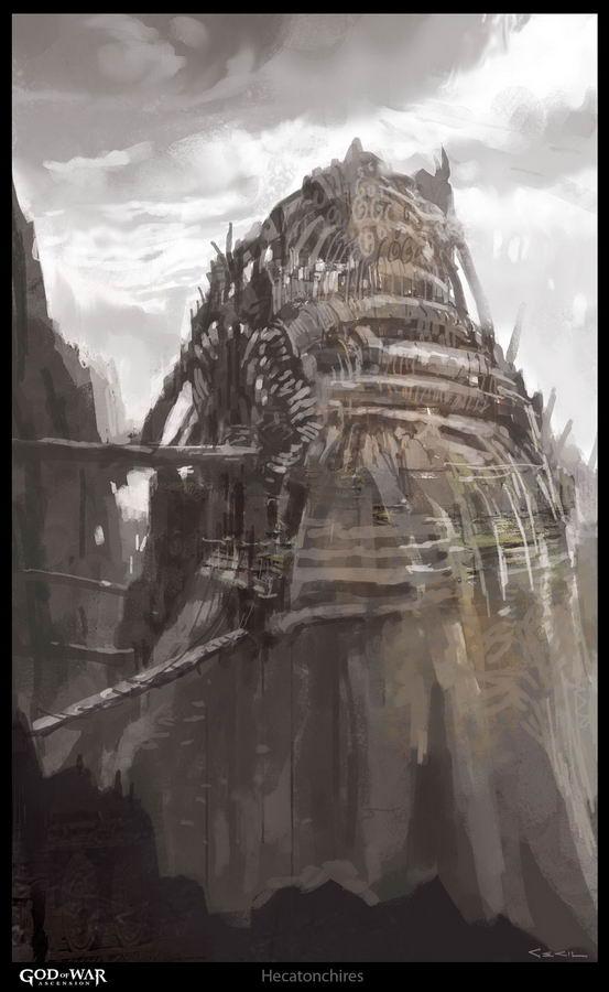 Арт God of War Ascension