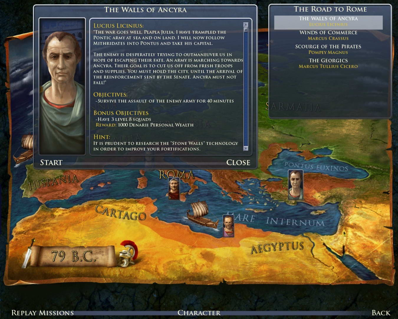 Скриншот Grand Ages: Rome