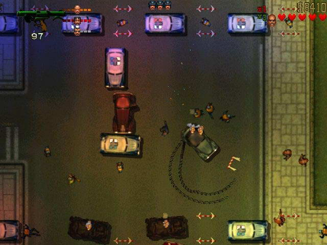 Скриншот Grand Theft Auto 2