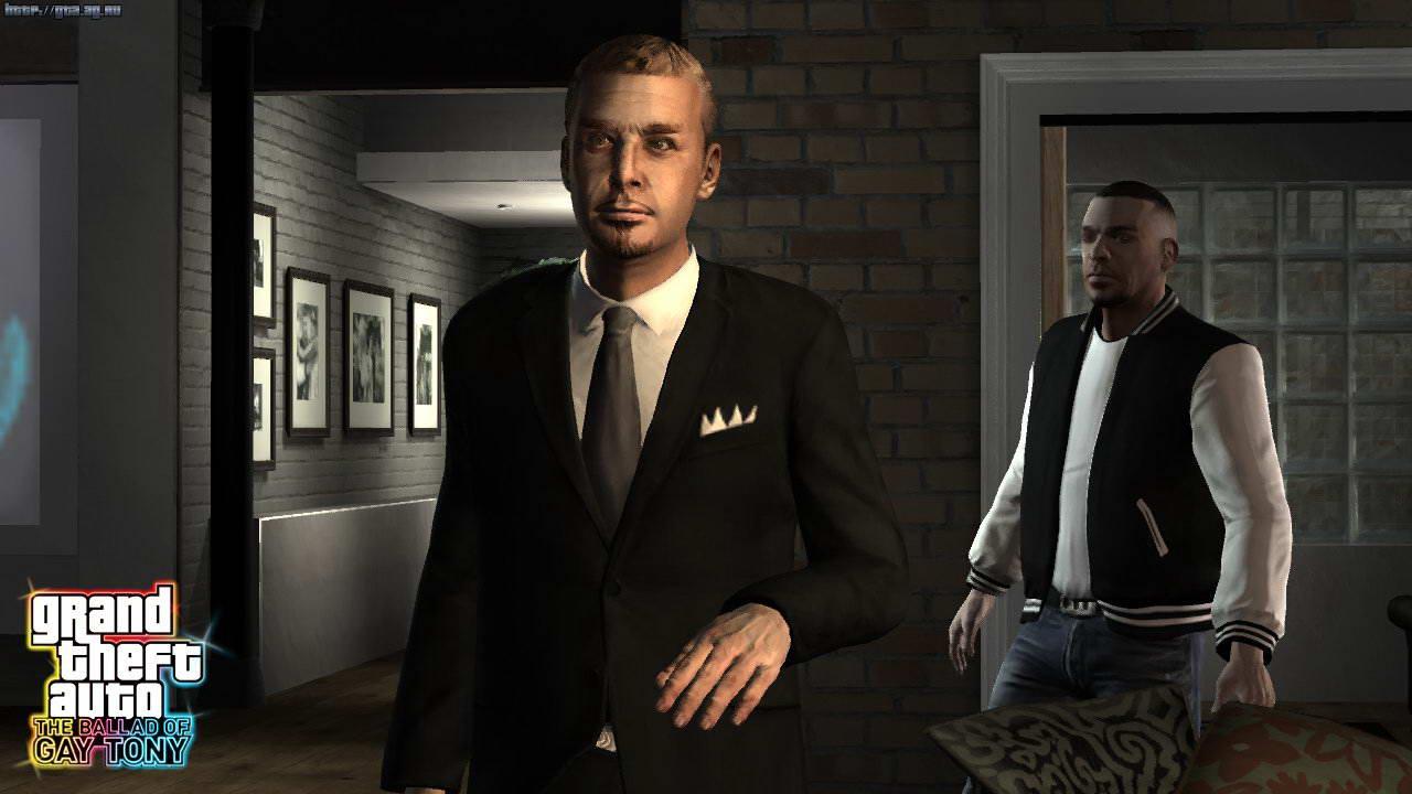 Скриншот Grand Theft Auto 4: The Ballad of Gay Tony