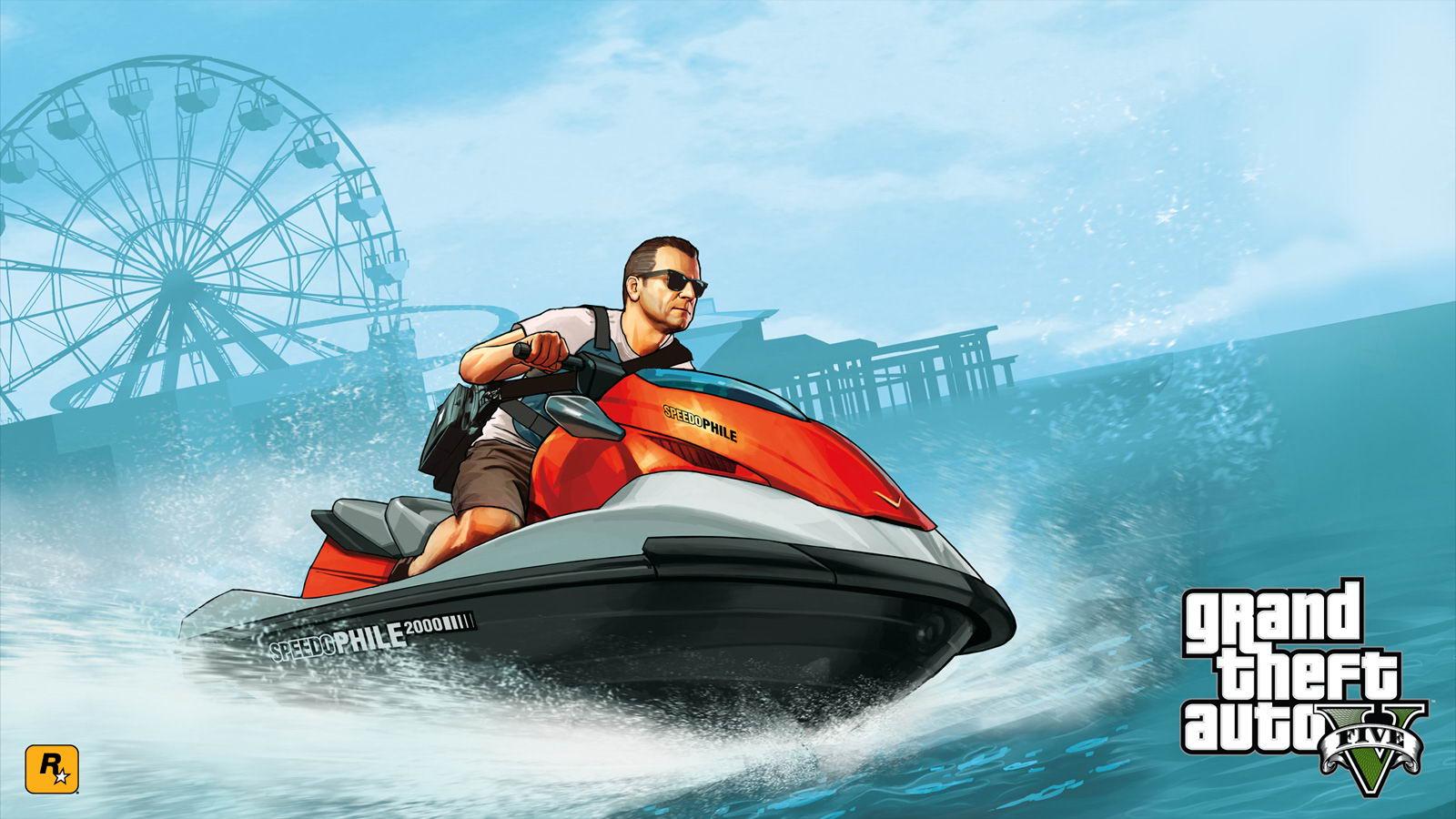 Арт Grand Theft Auto V