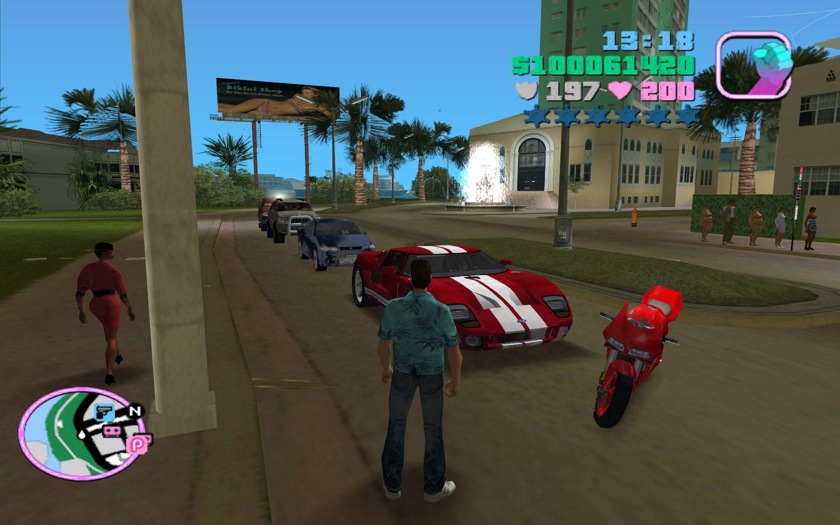 Скриншот Grand Theft Auto: Vice City