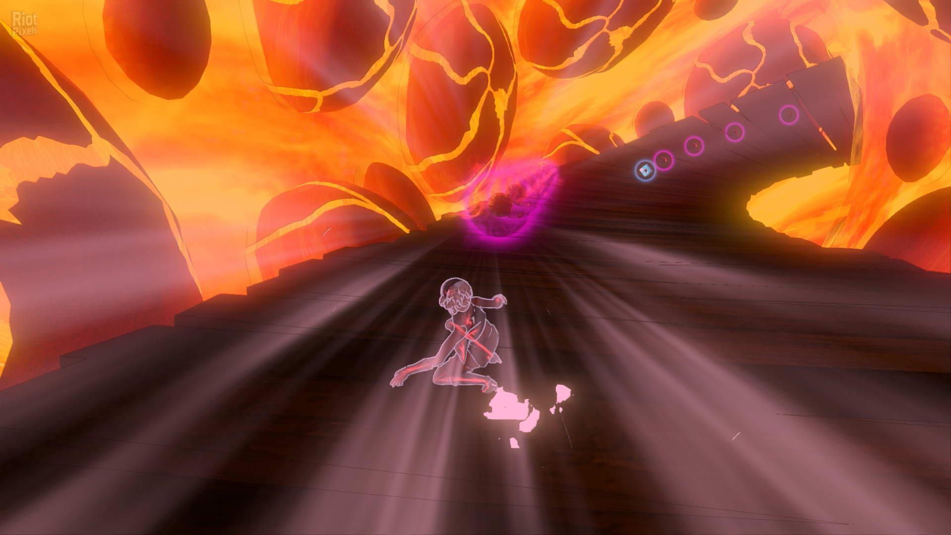 Скриншот Gravity Rush Remastered