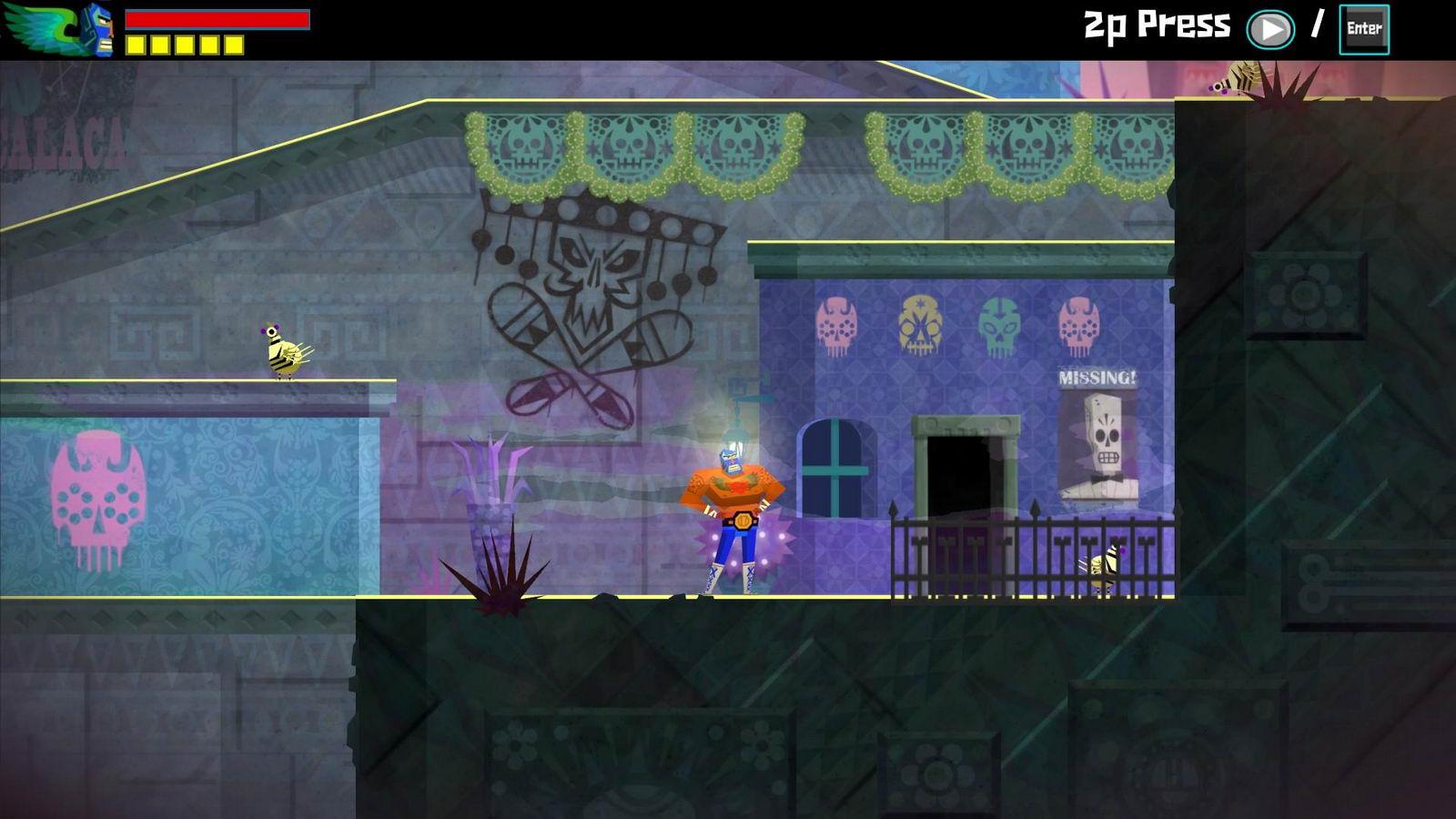 Скриншот Guacamelee!