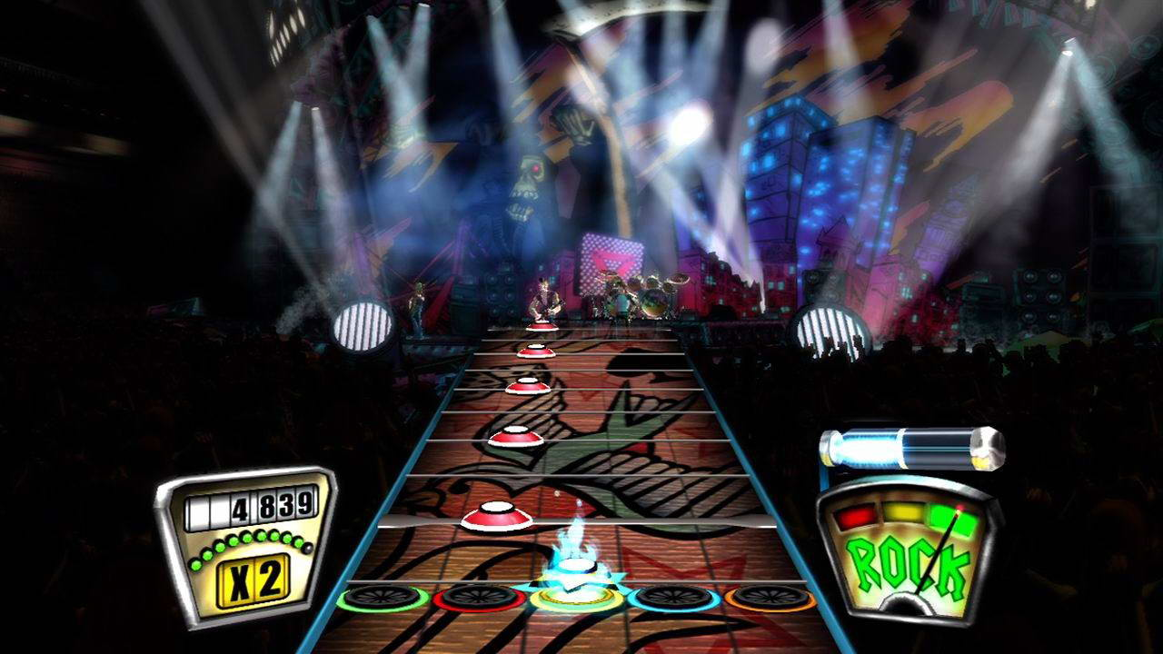 Скриншот Guitar Hero II