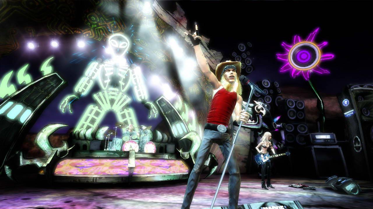 Скриншот Guitar Hero III: Legends of Rock