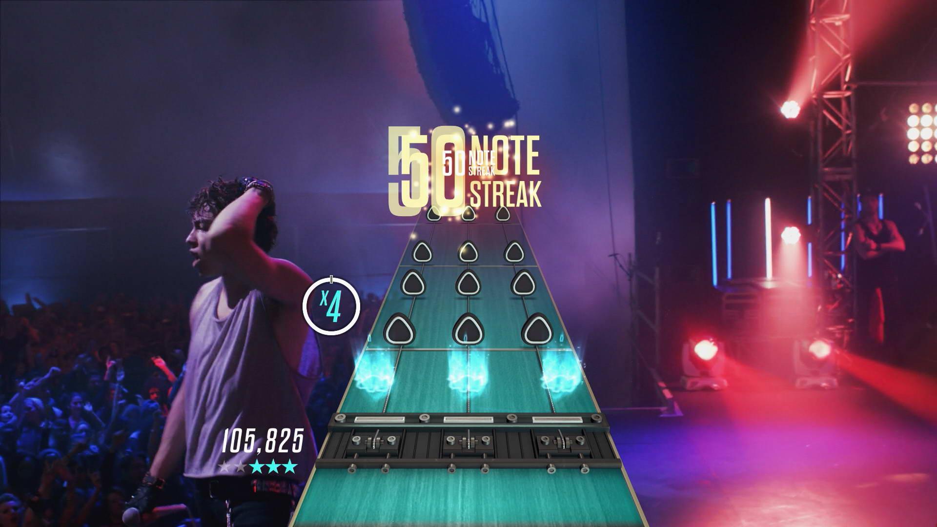 Скриншот Guitar Hero Live