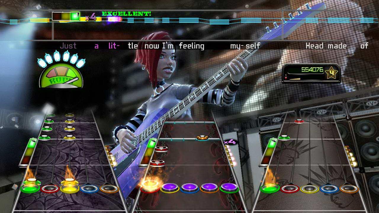 Скриншот Guitar Hero: Van Halen