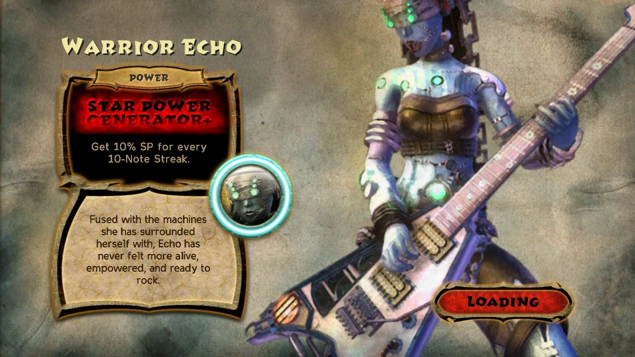 Скриншот Guitar Hero: Warriors of Rock