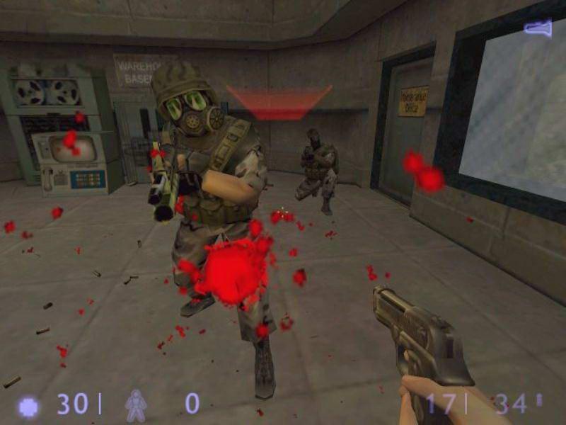 Скриншот Half-Life: Blue Shift
