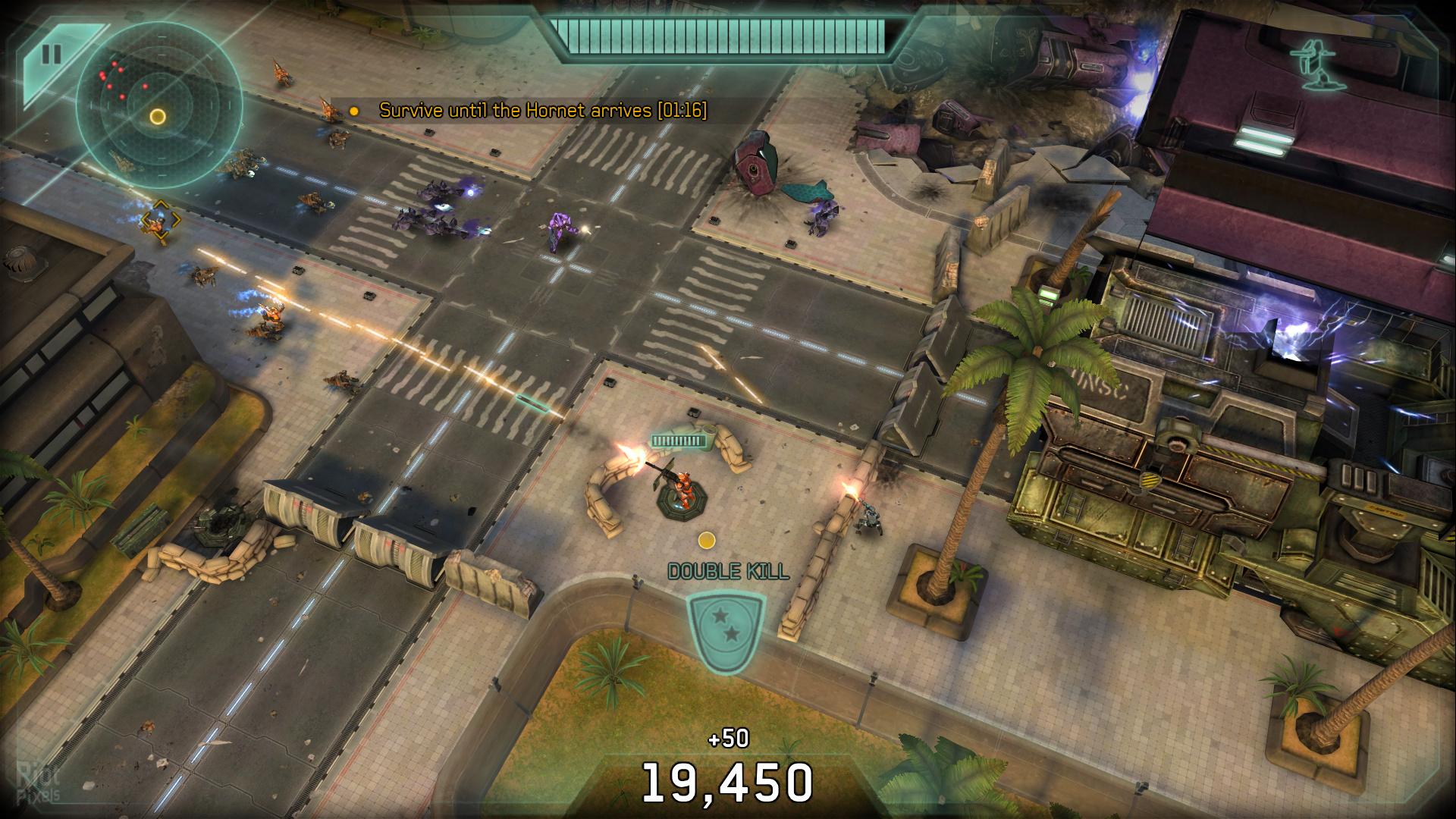 Скриншот Halo: Spartan Strike