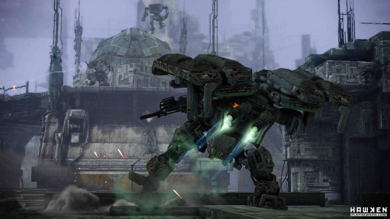 Скриншот Hawken
