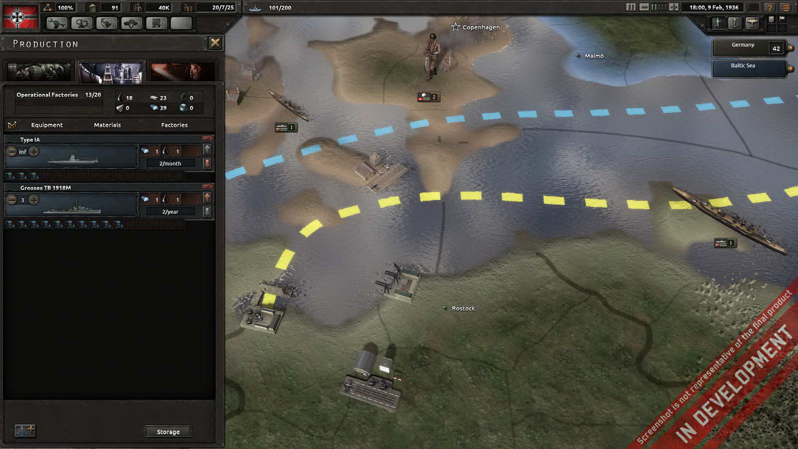 Скриншот Hearts of Iron 4