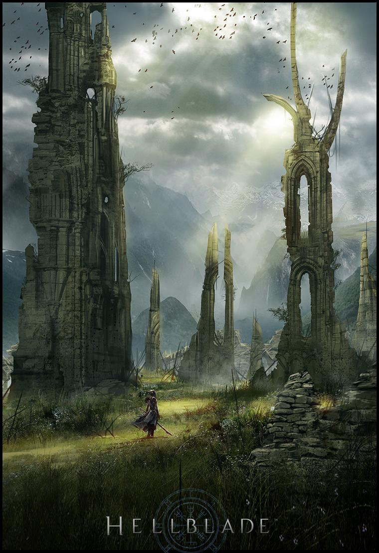 Арт Hellblade: Senua's Sacrifice
