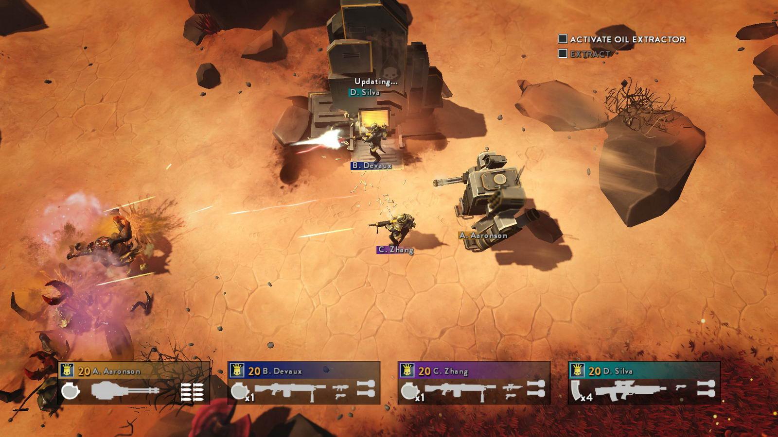 Скриншот Helldivers