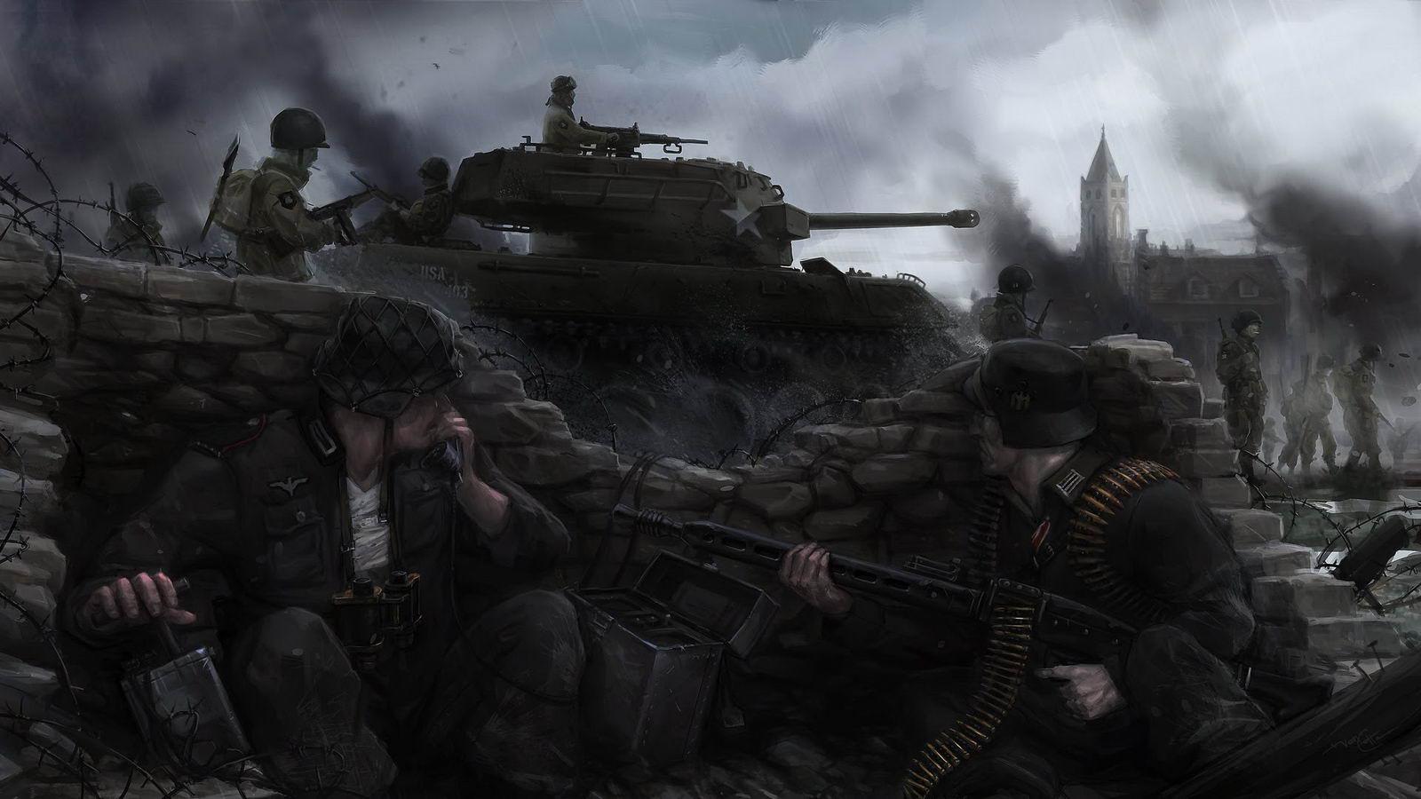Арт Heroes & Generals