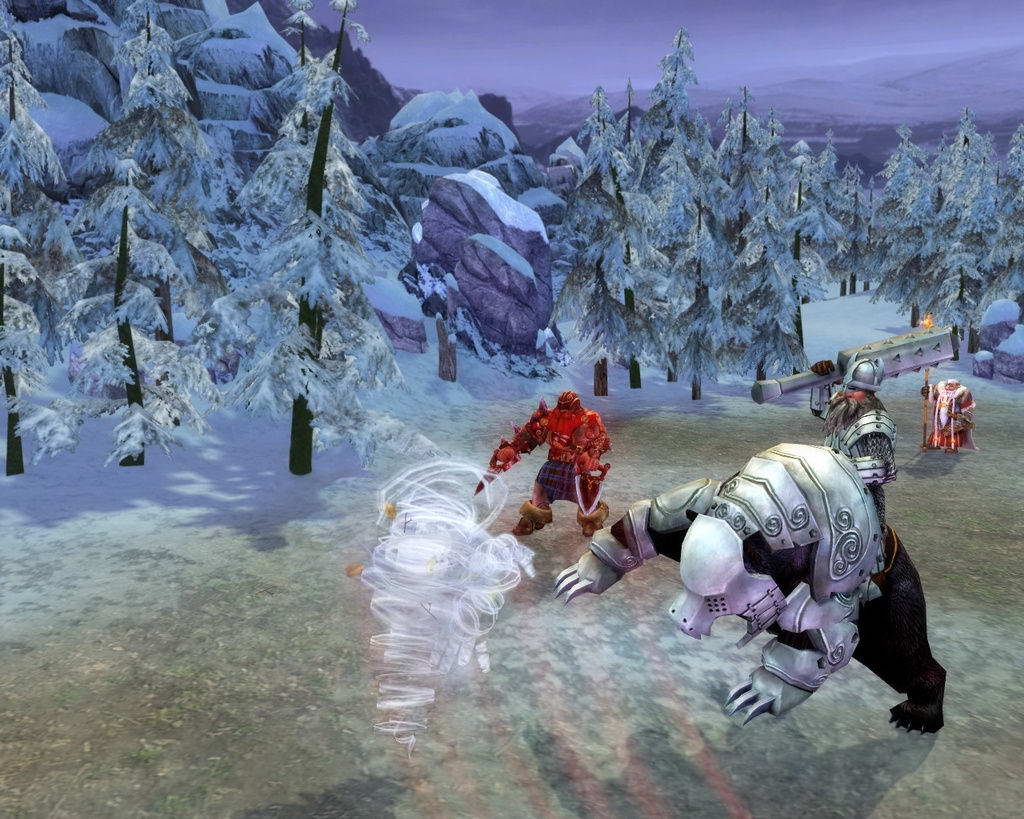 Скриншот Heroes of Might and Magic V: Hammers of Fate