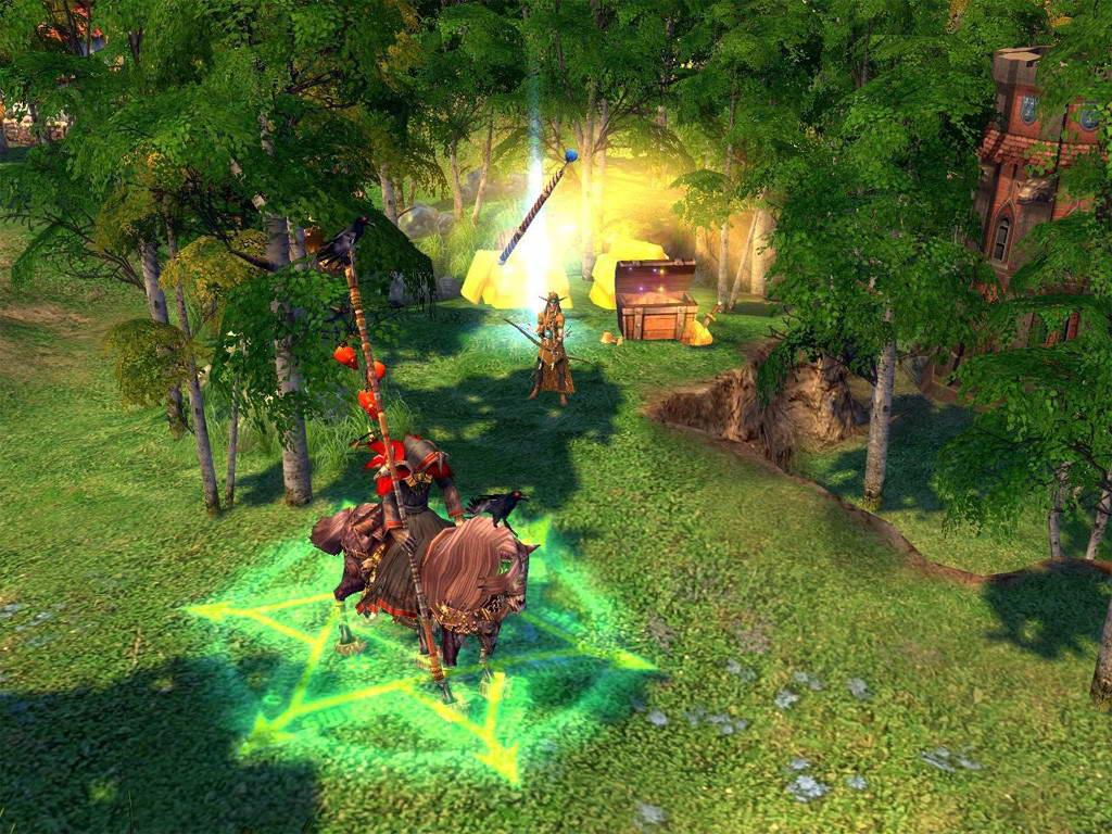 Скриншот Heroes of Might and Magic V