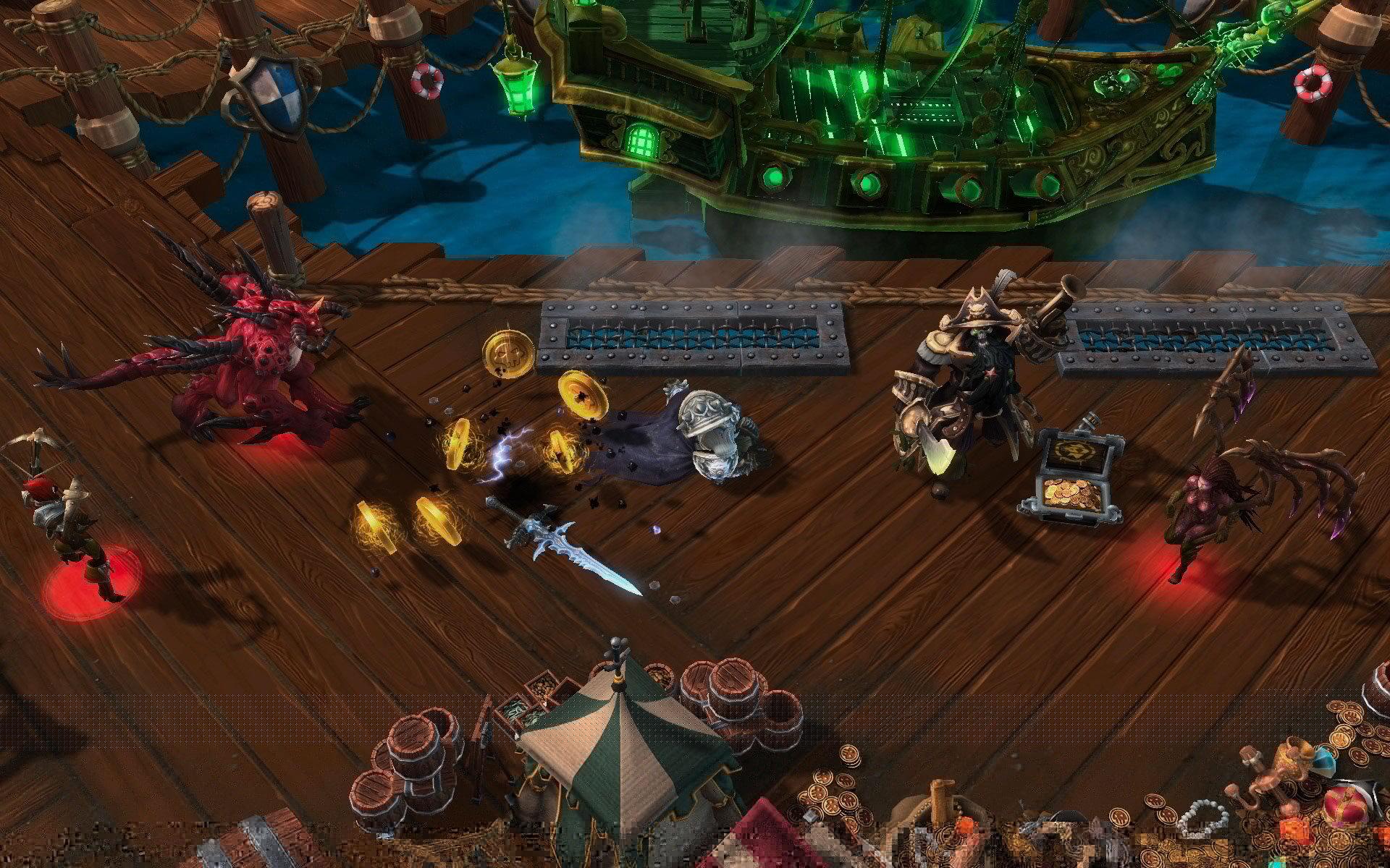 Скриншот Heroes of the Storm