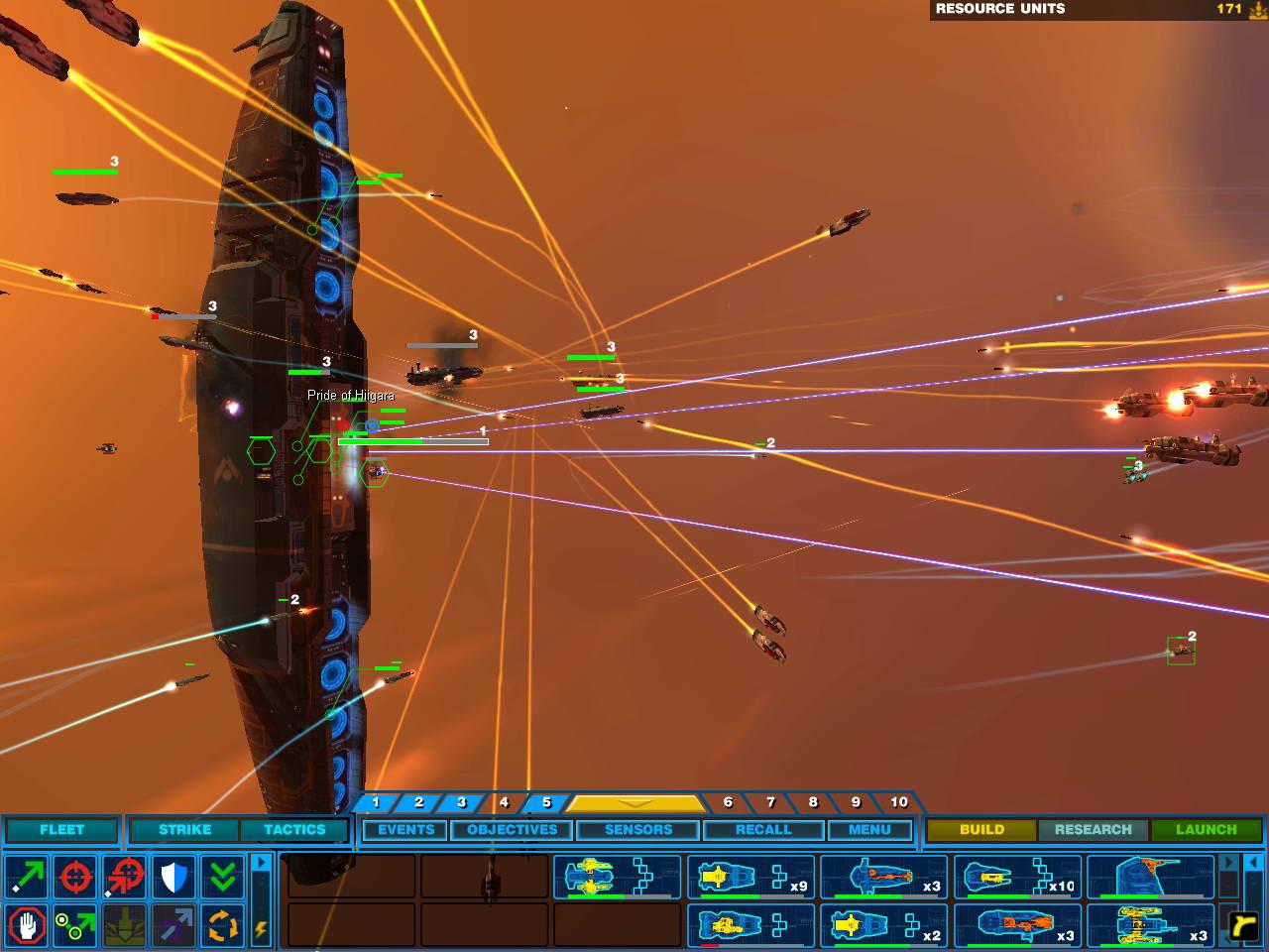 Скриншот Homeworld