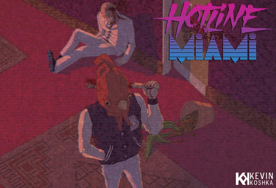 Арт Hotline Miami